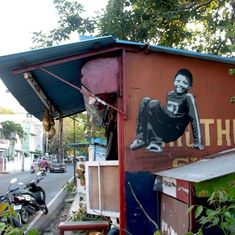 Painting with children: A German street artist has left his mark from Delhi to Kochi