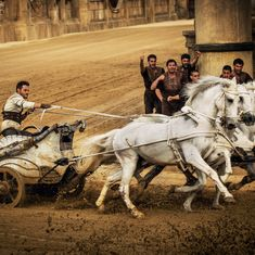 No 'Ben-Hur' adaptation is complete without a chariot race sequence