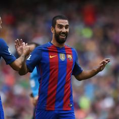 Barcelona have finally figured out how best to utilise Arda Turan