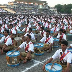 RSS threatens to start shakhas in homes if Kerala evicts it from temple premises