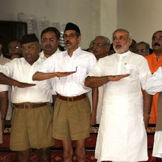 The BJP wants to shift the focus to the RSS work in social service. Here's why it may not work