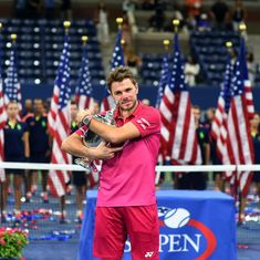 Stanislas Wawrinka wins third major after beating Novak Djokovic 6-7, 6-4, 7-5, 6-3 in US Open final