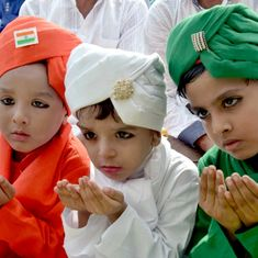 Photos: Muslims gather to celebrate Eid al-Adha, offer prayers to mark the end of Hajj