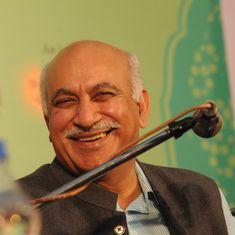 Not just Rahul Gandhi: BJP leader MJ Akbar also said that RSS-linked men killed Mahatma Gandhi