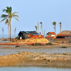 Photos: In a corner of Bengal, people are living on the edge of a rising sea