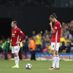 Three matches, three losses. But  Manchester United shouldn't start panicking already