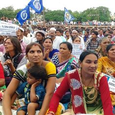 An assault on pregnant Dalit woman in Gujarat has once again united the community against oppression