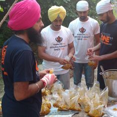 Border-village evacuation: Khalsa Aid volunteers step up to fill gaps in official services