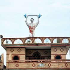 It's a bird, and a plane, and a football: The bizarre water tanks of Punjab
