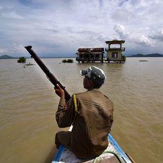 Massive flood on Bhutan-India border triggers blame game