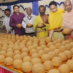How the Tirupati Laddu was marketed to bring sweet returns for Tirumala temple