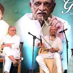 'Gulzar in Conversation with Tagore' is a love letter from one poet to another