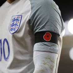 Why has a humble poppy become the cynosure of attention in Friday's England-Scotland football clash?