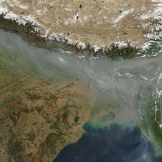 Pollution from India and China has reached the stratosphere