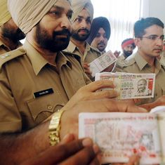 Just how many fake notes were actually detected in India last year?