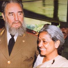 When Fidel Castro insisted on calling me Indira