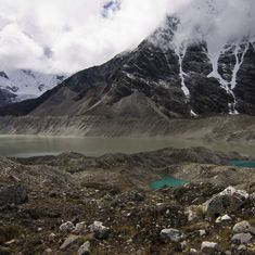 In photos: The story of making Nepal's Imja glacier lake flood-safe