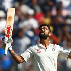 Instead of comparing Virat Kohli to other batsmen, let's enjoy him for what he is
