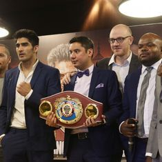 Saturday provides Vijender Singh the perfect chance to end a glorious 2016 on a resounding high