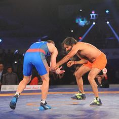 Baba Ramdev vs Andriy Stadnik was a ludicrous promotional stunt that the PWL could have done without