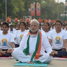 Yoga isn't an all-Hindu tradition – it has Buddhist, even Sufi, influences