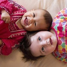 How five-month-old babies know what's funny