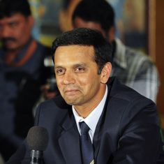 Why there's no such thing as a free lunch for Rahul Dravid
