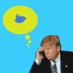 Donald Trump's tweets are now presidential records. So can he delete or alter them at will?