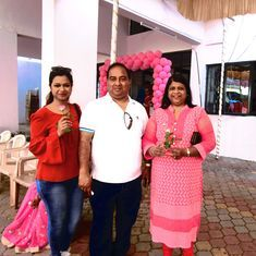 Goa went pink on election day with roses, teddy bears and special booths for women