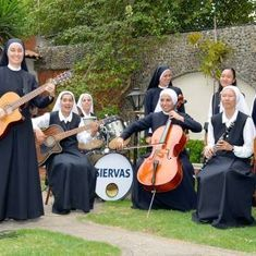Watch this all-nun rock-and-roll band selling out concerts in Latin America
