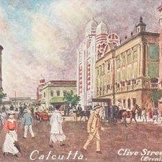 The story of the elusive man who made these fascinating pastel postcards of Calcutta