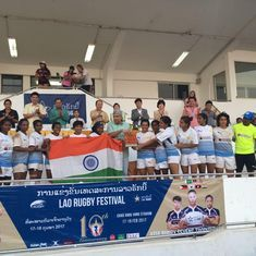 India's women's rugby team wins silver at the Asian Sevens trophy