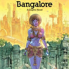 How do you visually capture Bengaluru without showing its landmarks? Hint: With zombies and murders