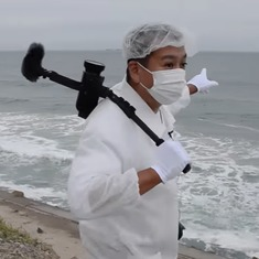 Watch: Japanese citizens displaced by the Fukushima disaster return home as anti-nuclear activists