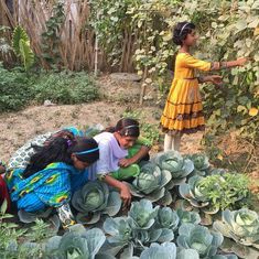 In West Bengal, a project teaching girls how to farm is saving them from trafficking, child marriage