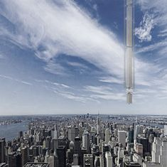 Would you like to live in a skyscraper hanging from an asteroid?