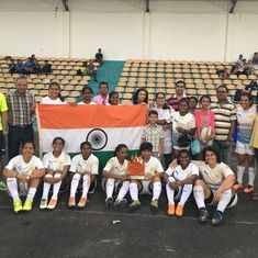 The success of the women's team is helping rugby find its feet in India