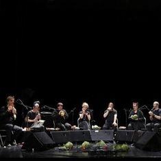 Watch: This orchestra makes its instruments using fresh vegetables