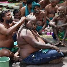 Tamil Nadu farmers protest in the nude outside Prime Minister's Office, demand drought relief fund