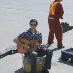 Watch: Nine years before manhandling a passenger, United Airlines had broken guitars