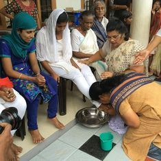 Feet-washing ritual: Women step forward after two Kerala churches refuse to follow Pope Francis