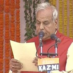 Watch: 'How will the place be clean if you employ a cripple?' asks UP minister Satyadev Pachauri