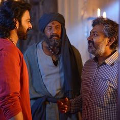 Kattappa killed Baahubali. He apologises to  ensure that he doesn't kill the sequel too