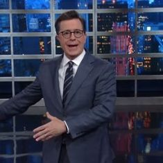 'I would do it again': Watch Stephen Colbert respond to backlash over (crude) Trump joke