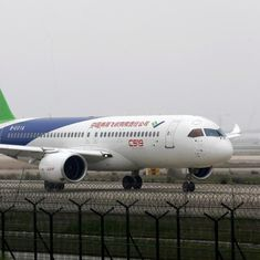 China's first indigenous passenger jet completes maiden flight