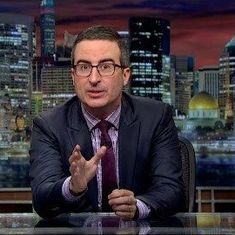 Watch: When he's not making you laugh, John Oliver is trying to save net neutrality