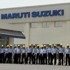 Maruti Suzuki partially replaces manpower with robots at its Manesar and Gurugram plants