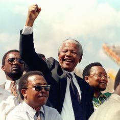 Watch: On this day in 1994, South Africa elected its first black President