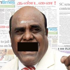 Karnan case: The Supreme Court has acted like Humpty Dumpty in its gag order on press