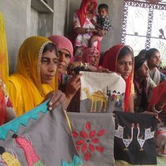Art of survival: How embroidery work helps women artisans of Thar desert to overcome adversity